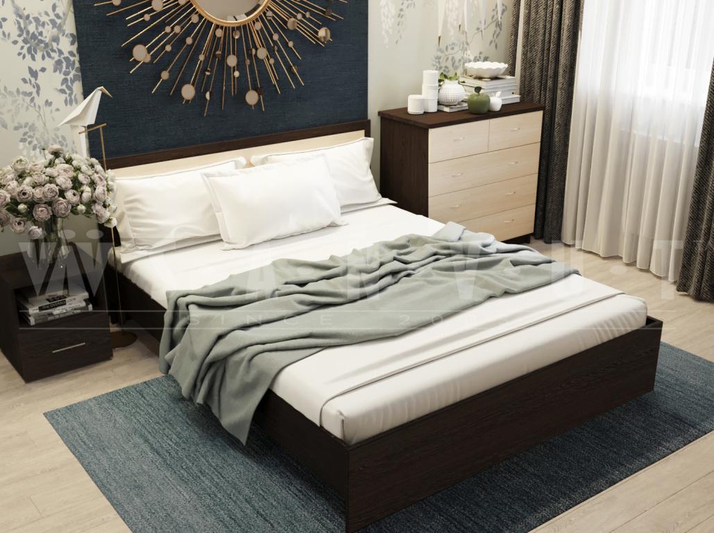 Кровать без основания Дуэт МД14