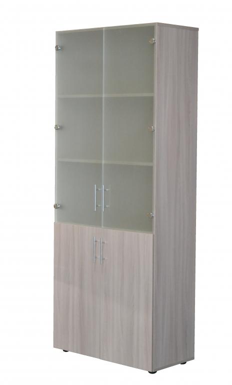 Шкаф для офиса Sanvut ШС2 Ясень шимо светлый